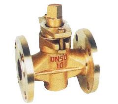 X43W二通全铜旋塞阀